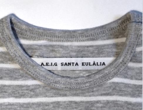 como hacer etiquetas de ropa