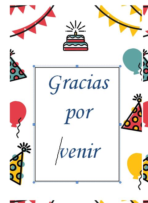 etiquetas de cumpleaños para editar