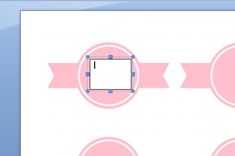como hacer etiquetas circulares en word